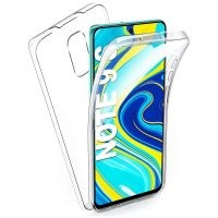 قاب محافظ شفاف 360 درجه شیائومی Soft Clear Ultra Thin 360 Degree Case Xiaomi Redmi Note 9 Pro / Note 9 Pro Max / Note 9S