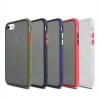 قاب محافظ اپل Transparent Hybrid Case For Apple iPhone 7/8/SE 2020