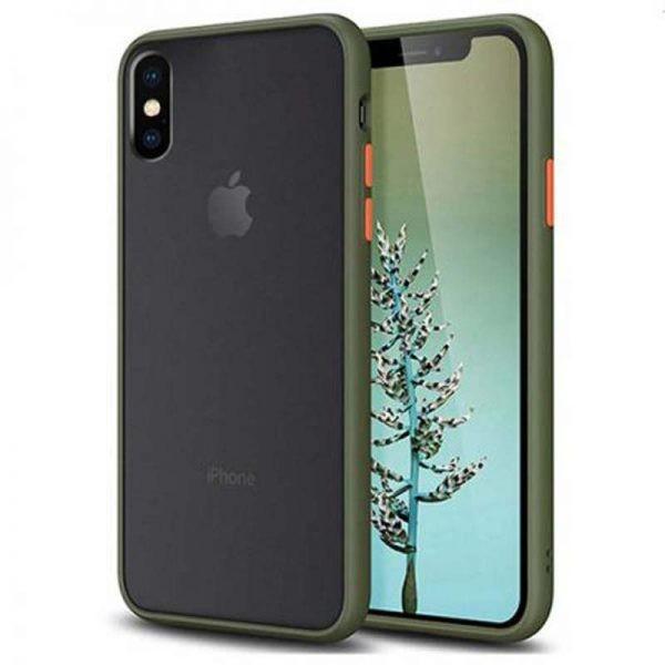 قاب محافظ اپل Transparent Hybrid Case For Apple iPhone Xs Max