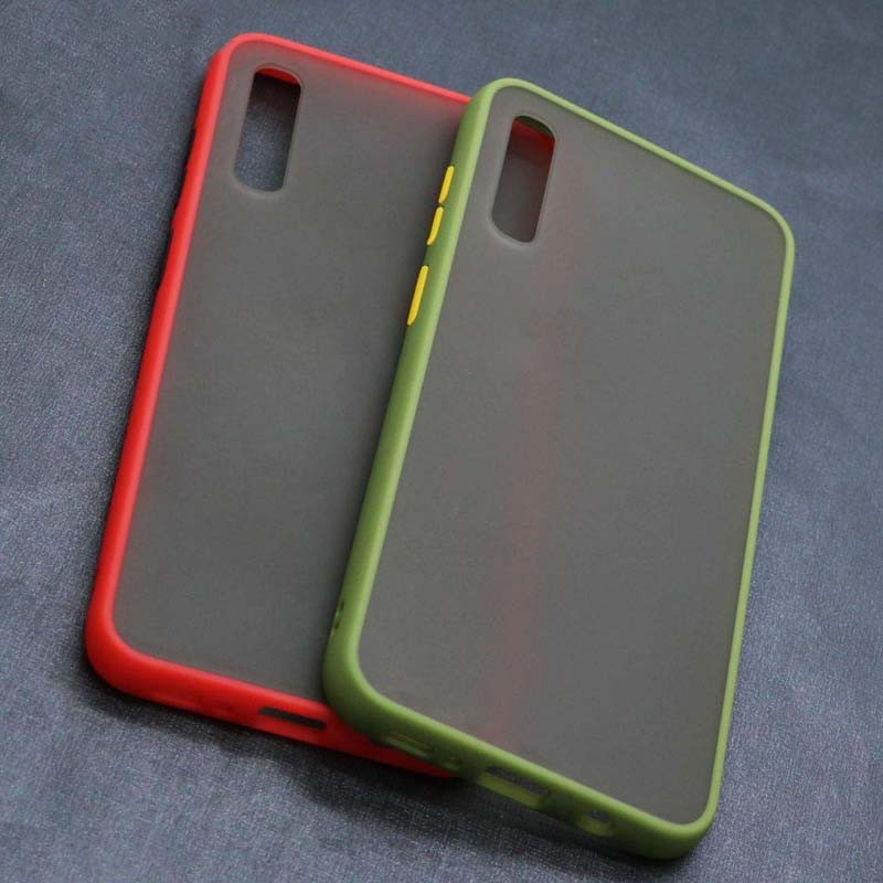 قاب محافظ سامسونگ Transparent Hybrid Case For Samsung Galaxy A70
