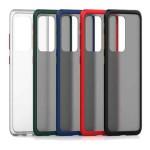 قاب محافظ سامسونگ Transparent Hybrid Case For Samsung Galaxy S20