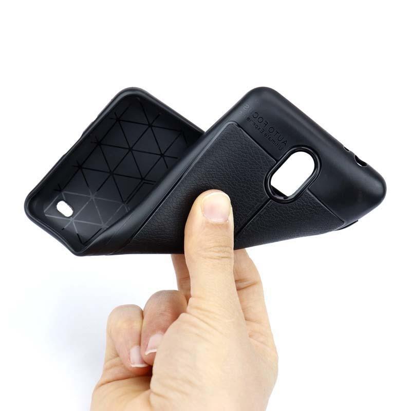 قاب ژله ای طرح چرم نوکیا Auto Focus Jelly Case For Nokia C1