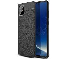 قاب ژله ای طرح چرم سامسونگ Auto Focus Jelly Case For Samsung Galaxy S10 Lite 2020