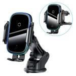 پایه نگهدارنده و شارژر وایرلس بیسوس هوشمند Baseus Light Electric Car Holder Wireless Charger WXHW03-01 15W