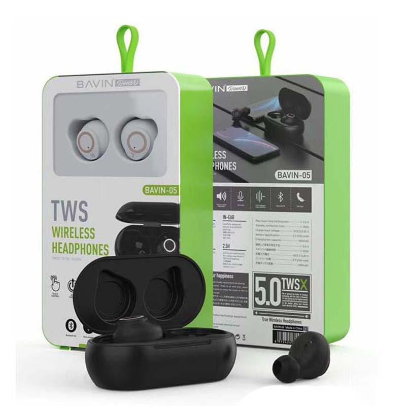 هندزفری بلوتوث باوین Bavin Ba05 TWS bluetooth headset