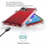 قاب محافظ ژله ای کپسول دار 5 گرمی سامسونگ Clear Tpu Air Rubber Jelly Case For Samsung Galaxy A21s