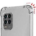 قاب محافظ ژله ای کپسول دار 5 گرمی شیائومی Clear Tpu Air Rubber Jelly Case For Xiaomi Mi 10 Lite 5G Mi10 Youth 5G