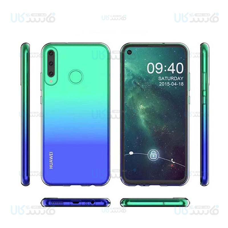 قاب محافظ ژله ای 5 گرمی کوکو هواوی Coco Clear Jelly Case For Huawei Y7p