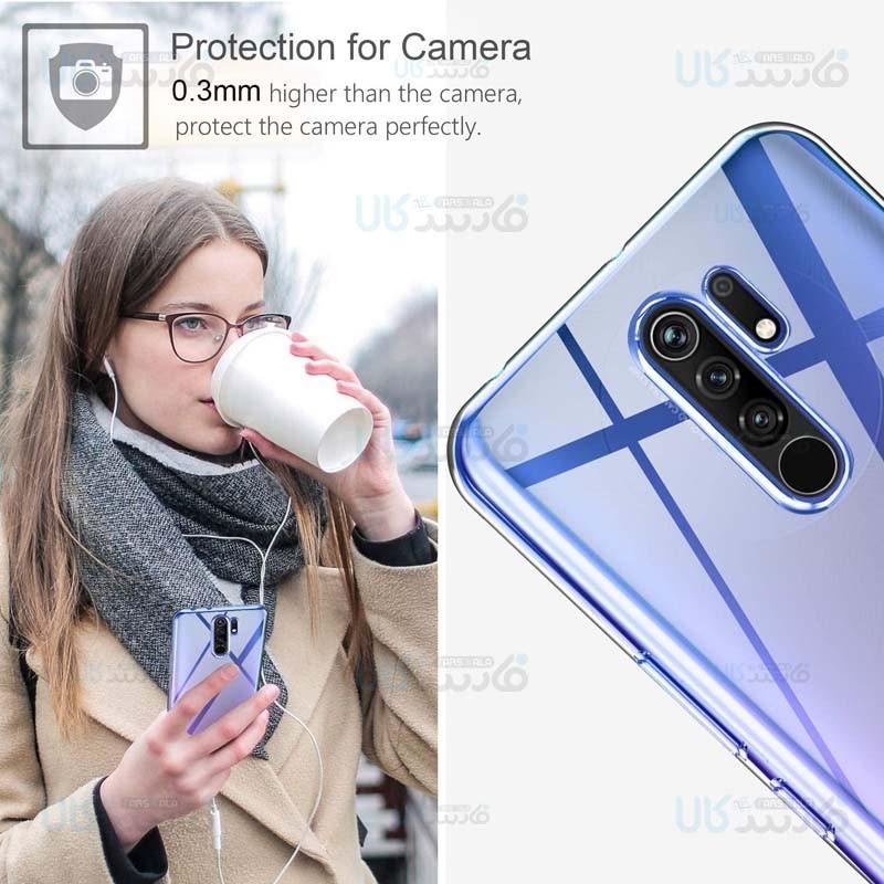 قاب محافظ ژله ای 5 گرمی کوکو شیائومی Coco Clear Jelly Case For Xiaomi Redmi 9