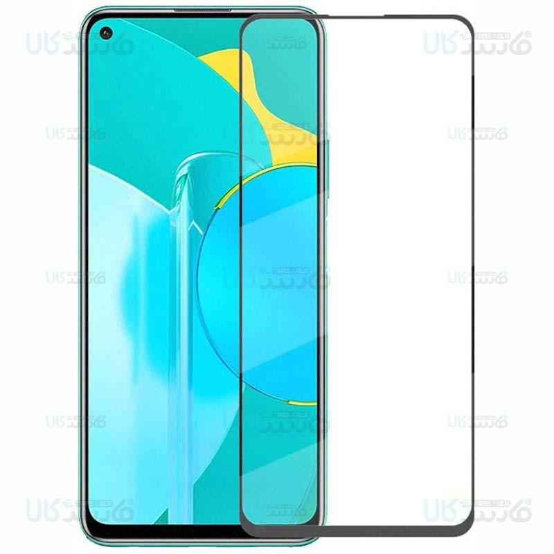 محافظ صفحه نمایش تمام چسب با پوشش کامل هواوی Full Glass Screen Protector For Huawei Honor 30S