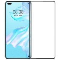 محافظ صفحه نمایش تمام چسب با پوشش کامل هواوی Full Glass Screen Protector For Huawei P40