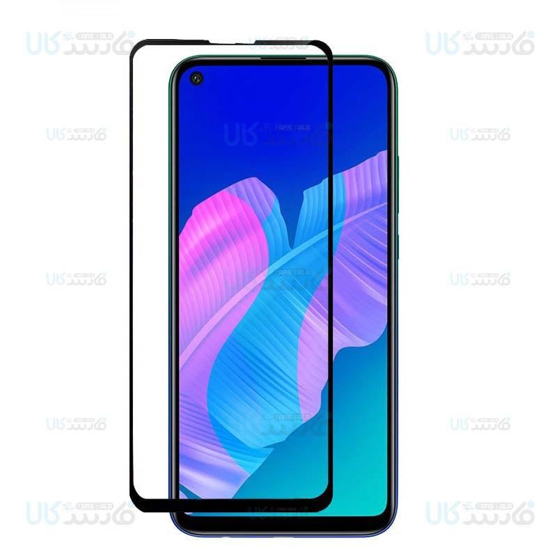 محافظ صفحه نمایش تمام چسب با پوشش کامل هواوی Full Glass Screen Protector For Huawei Y7p