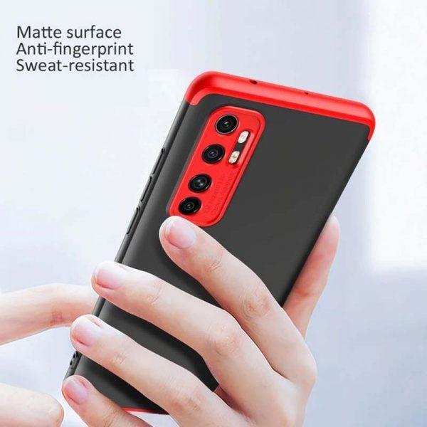 قاب محافظ با پوشش 360 درجه شیائومی GKK Color Full Cover For Xiaomi Mi Note 10 Lite