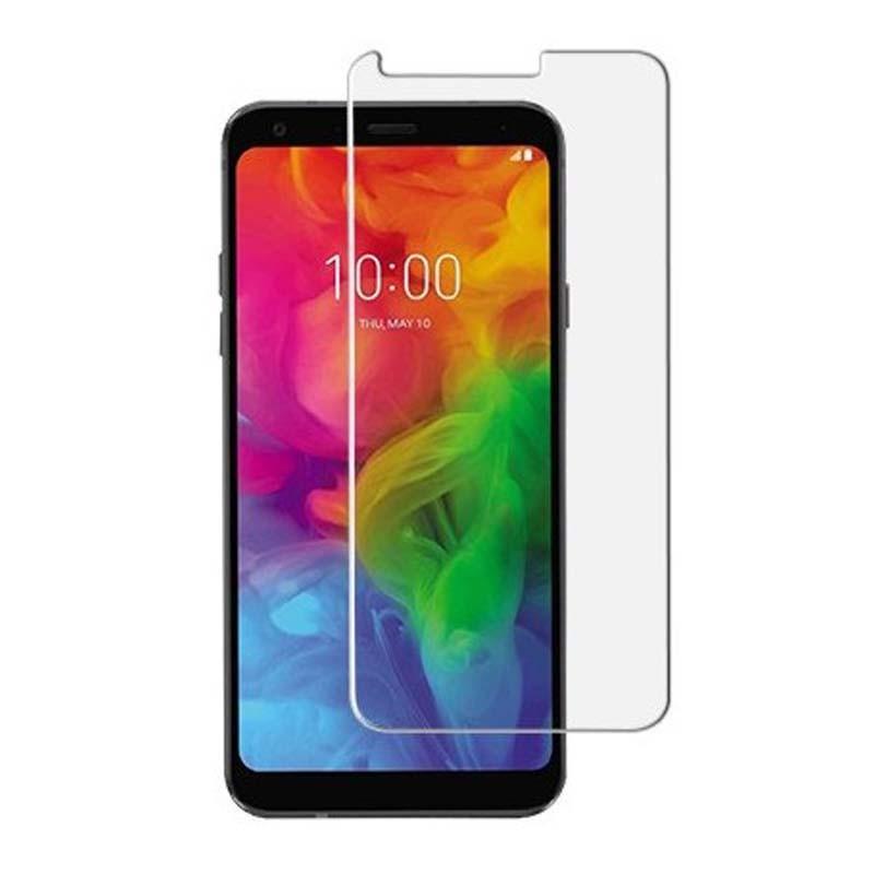 محافظ صفحه نمایش شیشه ای ال جی Glass Screen Protector For LG Q7