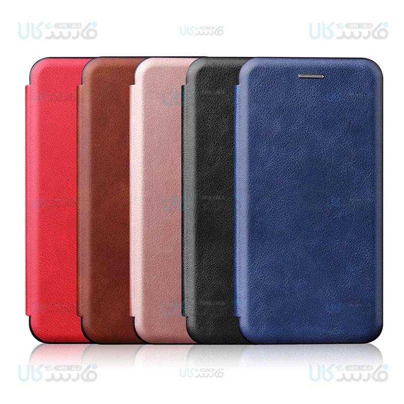 کیف محافظ چرمی ایسوس Leather Standing Magnetic Cover For Asus Zenfone 2 Laser ZE550KL