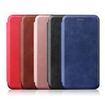 کیف محافظ چرمی سامسونگ Leather Standing Magnetic Cover For Samsung Galaxy A11
