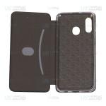 کیف محافظ چرمی سامسونگ Leather Standing Magnetic Cover For Samsung Galaxy A20e