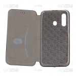کیف محافظ چرمی سامسونگ Leather Standing Magnetic Cover For Samsung Galaxy A60 / M40