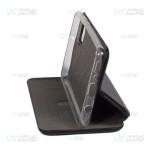 کیف محافظ چرمی سامسونگ Leather Standing Magnetic Cover For Samsung Galaxy A31