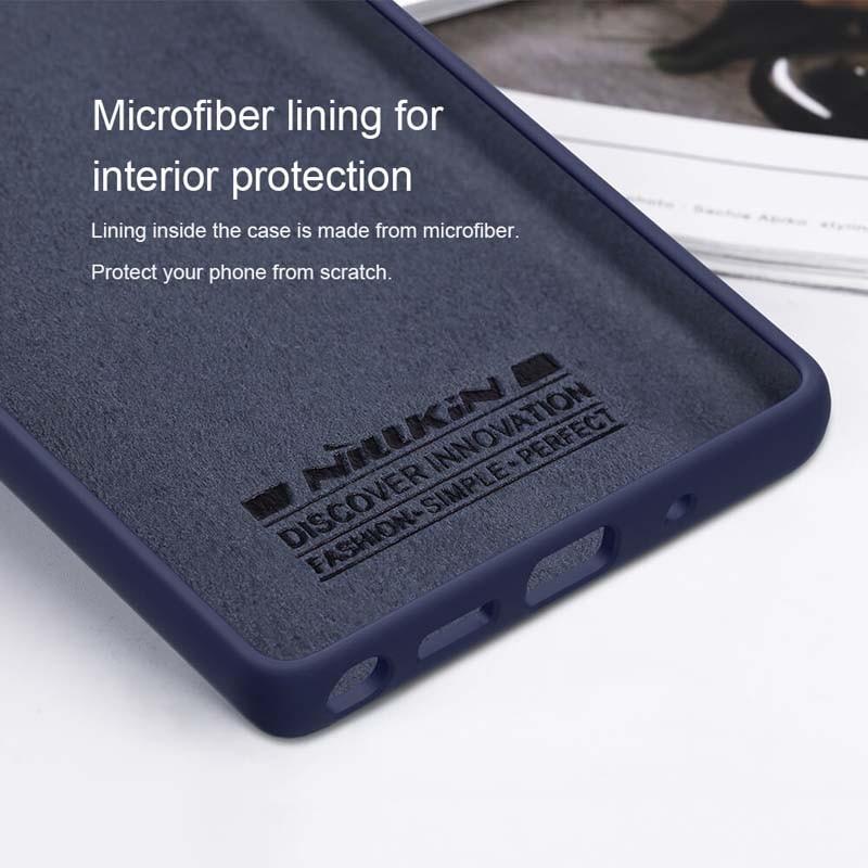 قاب محافظ سیلیکونی نیلکین سامسونگ Nillkin Flex Pure Case Samsung Galaxy Note 20