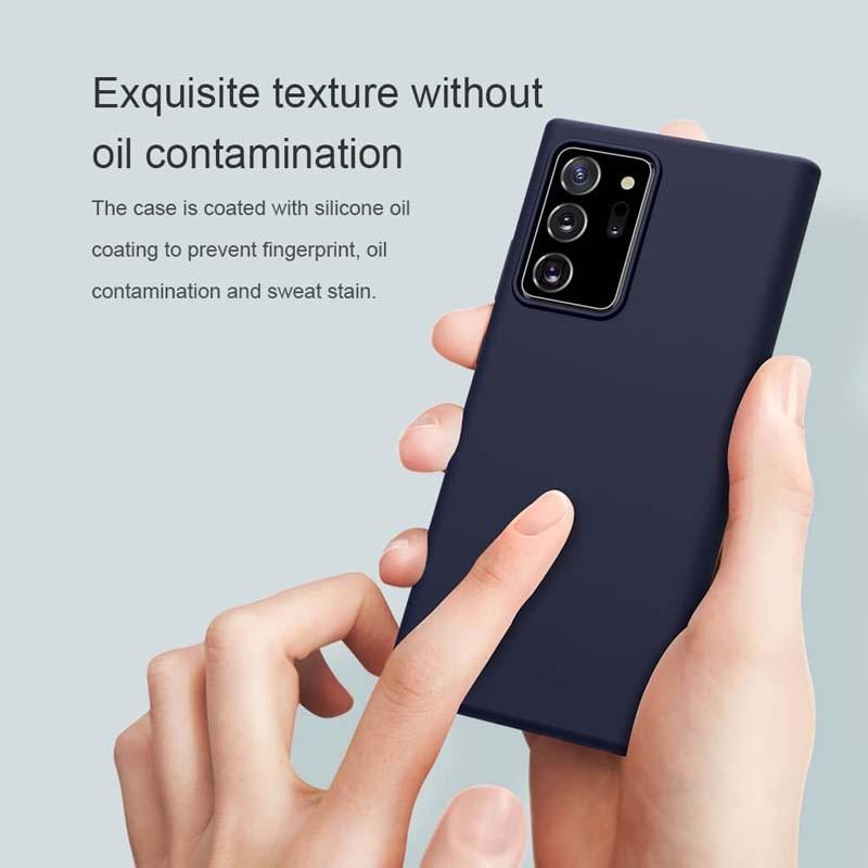 قاب محافظ سیلیکونی نیلکین سامسونگ Nillkin Flex Pure Case Samsung Galaxy Note 20 Ultra