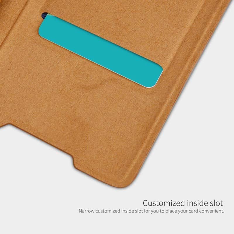 کیف محافظ چرمی نیلکین سامسونگ Nillkin Qin Case For Samsung Galaxy Note 20 Ultra