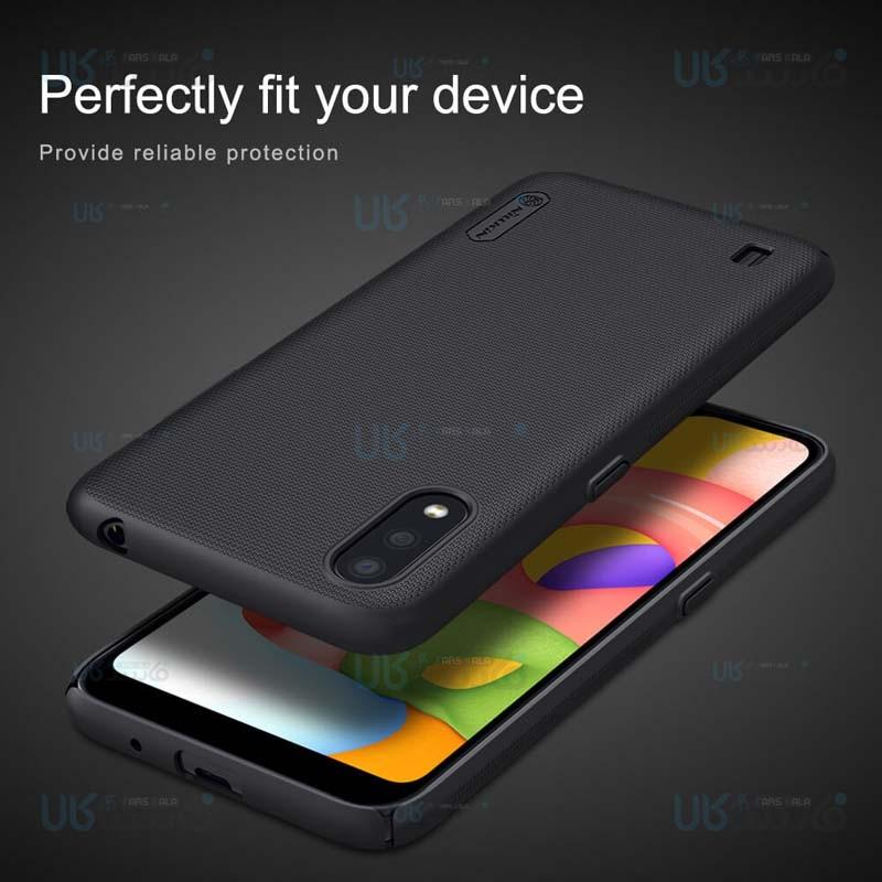 قاب محافظ نیلکین سامسونگ Nillkin Super Frosted Shield Case Samsung Galaxy A01