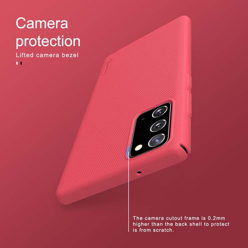 قاب محافظ نیلکین سامسونگ Nillkin Super Frosted Shield Case Samsung Galaxy Note 20