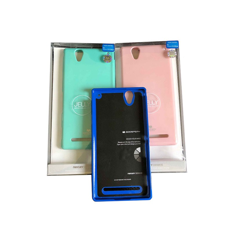قاب محافظ ژله ای رنگی GOOSPERY MERCURY برای Sony Xperia T2 Ultra