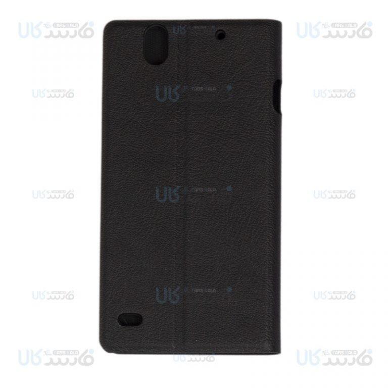 کیف چرمی محافظ راکسفیت سونی Roxfit Sony Xperia C4 Slimline Book Case