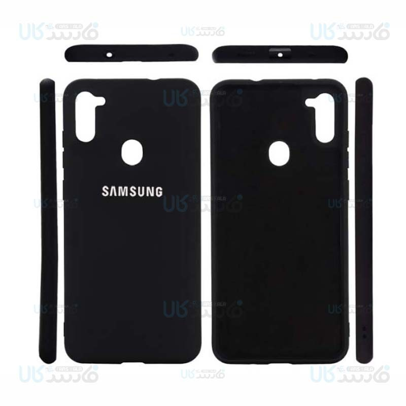 قاب محافظ سیلیکونی سامسونگ Silicone Case For Samsung Galaxy A11