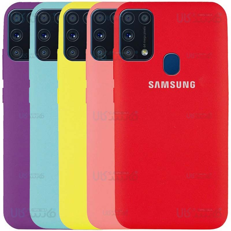 قاب محافظ سیلیکونی سامسونگ Silicone Case For Samsung Galaxy M31
