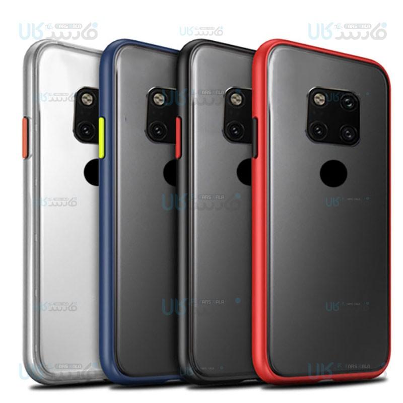 قاب محافظ هواوی Transparent Hybrid Case For Huawei Mate 20