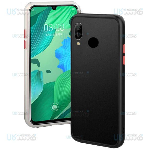 قاب محافظ هواوی Transparent Hybrid Case For Huawei Y6 2019 / Y6 Prime 2019