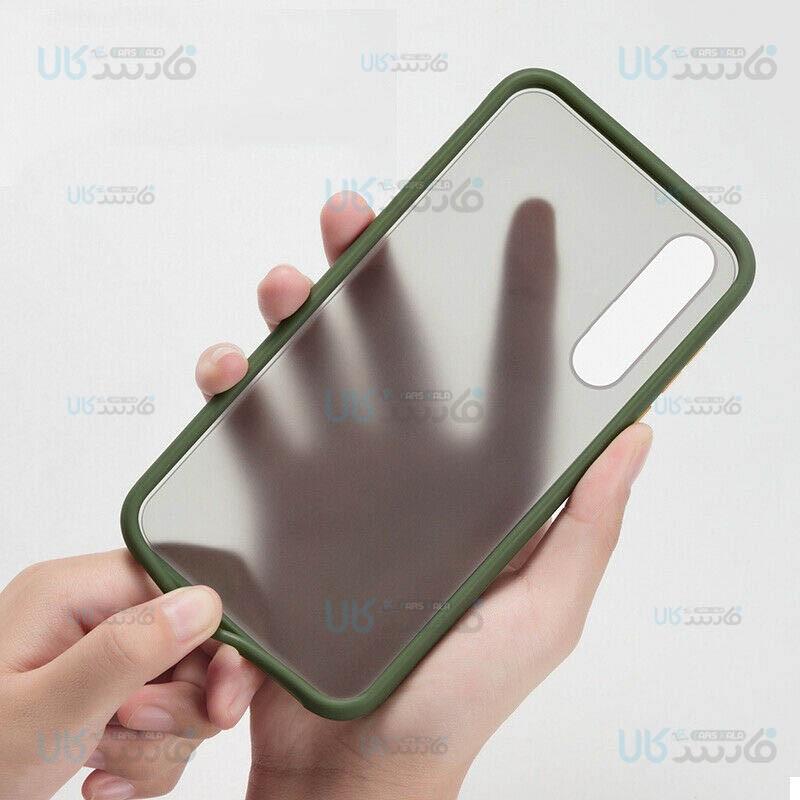 قاب محافظ هواوی Transparent Hybrid Case For Huawei Y9s / Honor 9X China