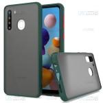 قاب محافظ سامسونگ Transparent Hybrid Case For Samsung Galaxy A21