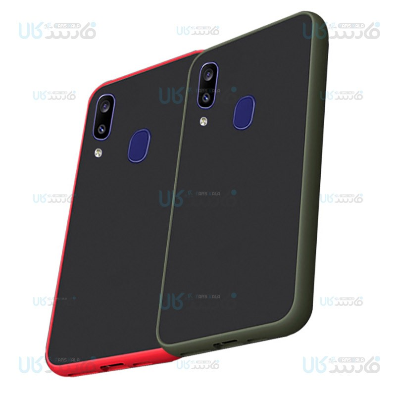 قاب محافظ سامسونگ Transparent Hybrid Case For Samsung Galaxy M10s