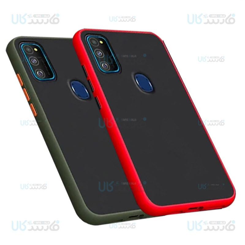 قاب محافظ سامسونگ Transparent Hybrid Case For Samsung Galaxy M30s