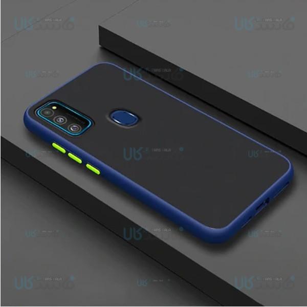 قاب محافظ سامسونگ Transparent Hybrid Case For Samsung Galaxy M30s