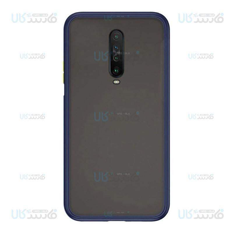 قاب محافظ شیائومی Transparent Hybrid Case For Xiaomi Redmi K30 / Poco X2