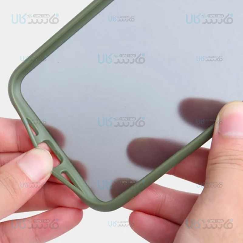 قاب محافظ سامسونگ Transparent Hybrid Case For Samsung Galaxy Note 10 Lite