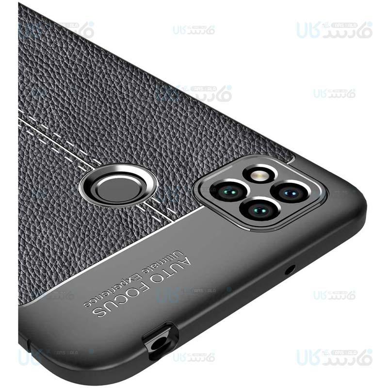 قاب ژله ای طرح چرم شیائومی Auto Focus Jelly Case For Xiaomi Redmi 9C