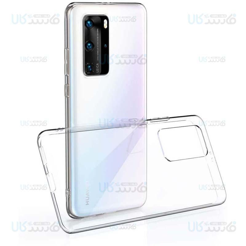 قاب محافظ شیشه ای- ژله ای هواوی Belkin Transparent Case For Huawei P40 Pro