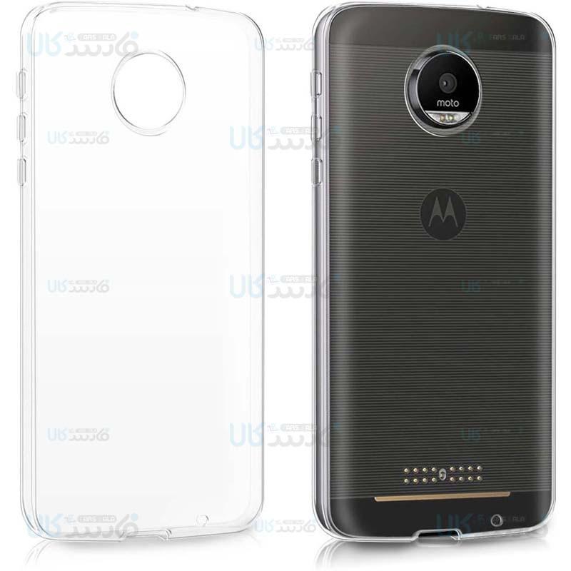 قاب محافظ شیشه ای- ژله ای موتورولا Belkin Transparent Case For Motorola Moto Z