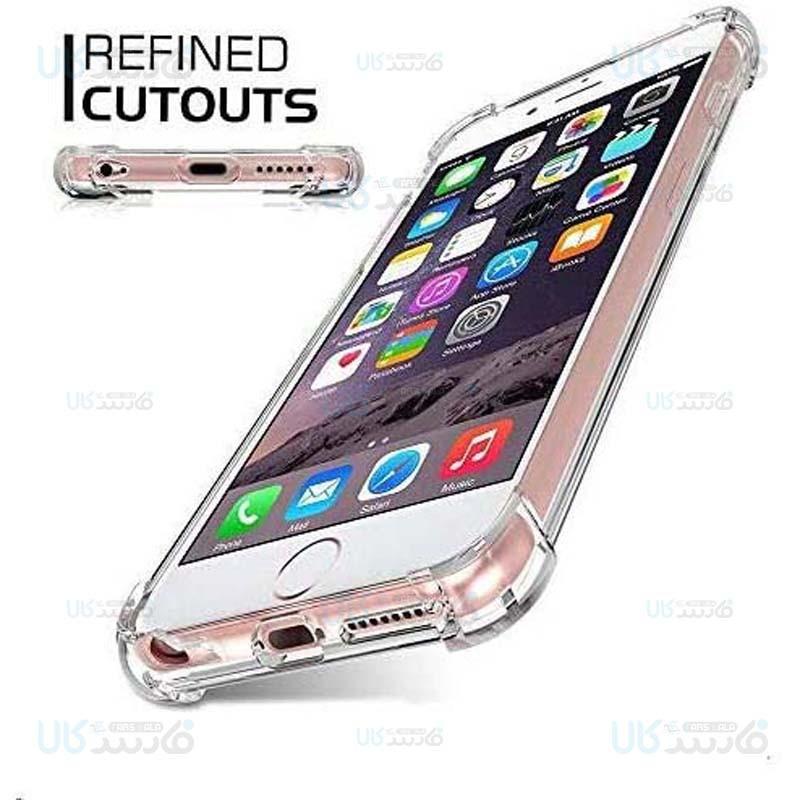 قاب محافظ ژله ای کپسول دار 5 گرمی اپل Clear Tpu Air Rubber Jelly Case For Apple iPhone 6 Plus / 6S Plus