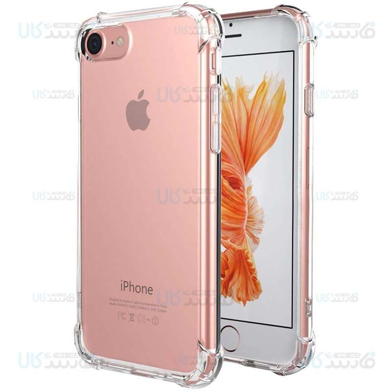 قاب محافظ ژله ای کپسول دار 5 گرمی اپل Clear Tpu Air Rubber Jelly Case For Apple iPhone 7 / 8 / Se 2020