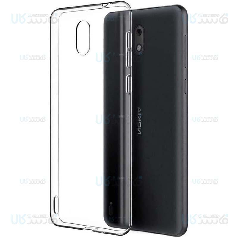 قاب محافظ ژله ای 5 گرمی کوکو نوکیا Coco Clear Jelly Case For Nokia C1