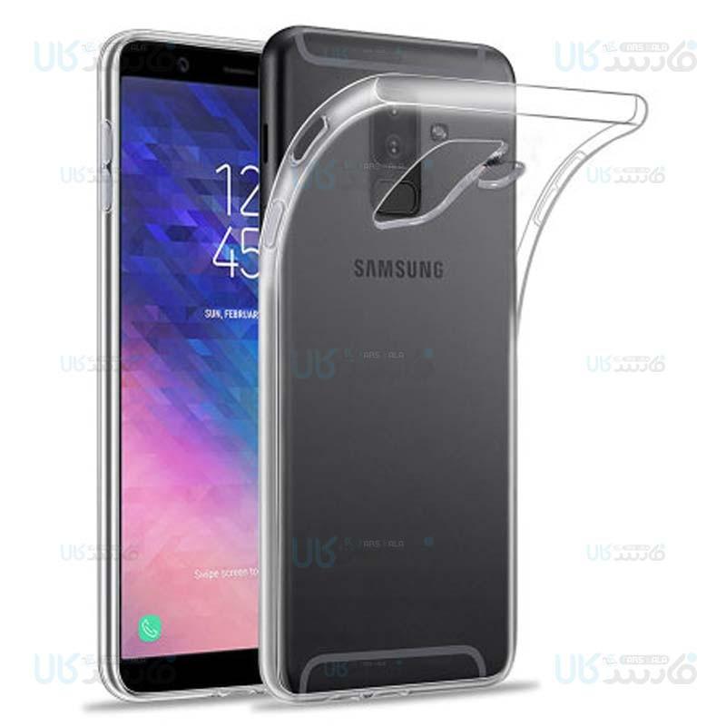 قاب محافظ ژله ای 5 گرمی کوکو سامسونگ Coco Clear Jelly Case For Samsung Galaxy A6 plus 2018