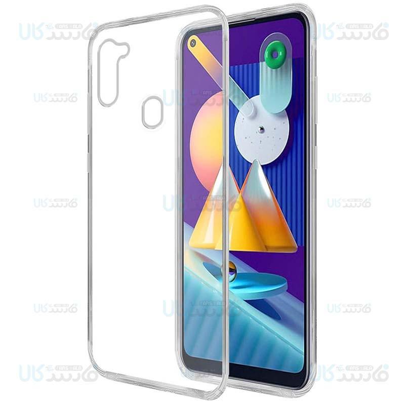 قاب محافظ ژله ای 5 گرمی کوکو سامسونگ Coco Clear Jelly Case For Samsung Galaxy M11