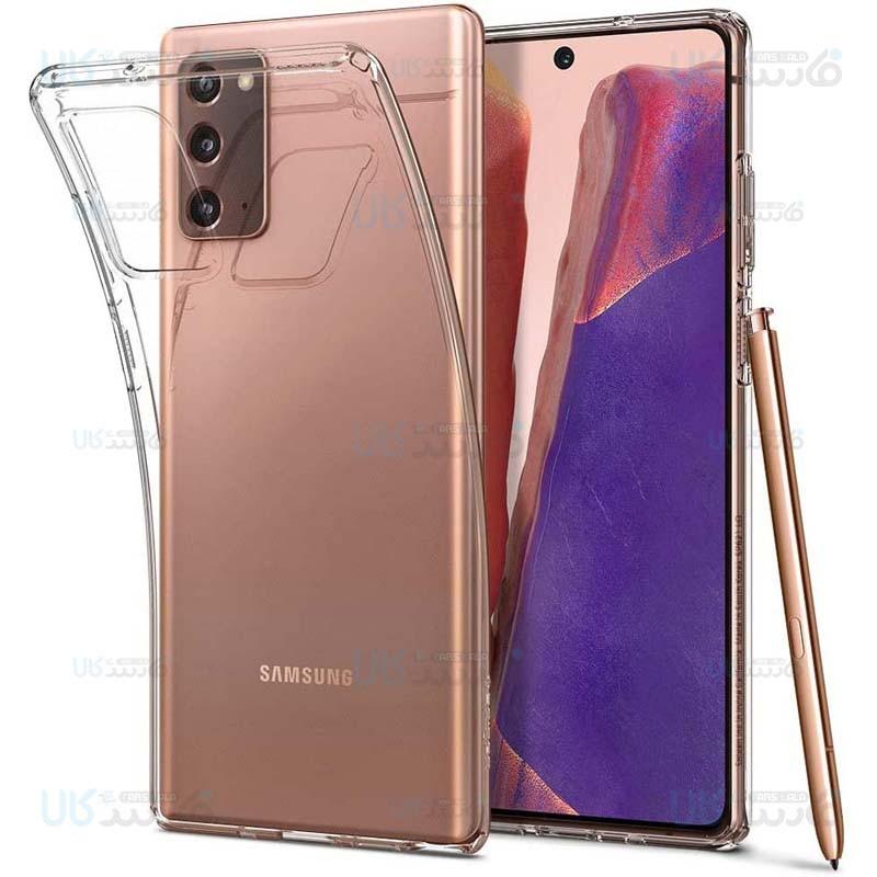 قاب محافظ ژله ای 5 گرمی کوکو سامسونگ Coco Clear Jelly Case For Samsung Galaxy Note 20